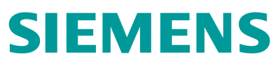 Siemens logo, products for automation and industrial control