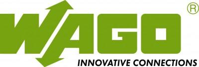 Logo marca wago, productos para automatización y control industrial