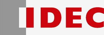 Logo marca idec, productos para automatización y control industrial